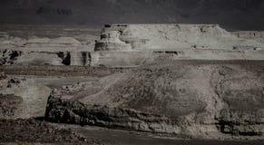 View of the Dead Sea coastline Stock Photo