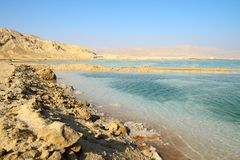 View of Dead Sea in the morning. Southen Israel Royalty Free Stock Photography