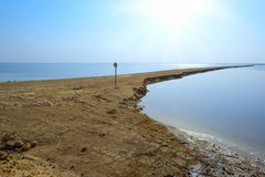 View of Dead Sea in the morning. Southen Israel Stock Photos