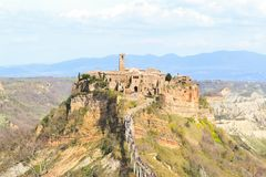 Civita di Bagnoregio Royalty Free Stock Photography