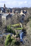 View on Dean village in Edinburgh Royalty Free Stock Photo