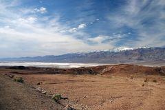 View of Death Valley Royalty Free Stock Image