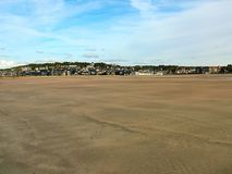 View of Deauville in Normandy, France royalty free stock image