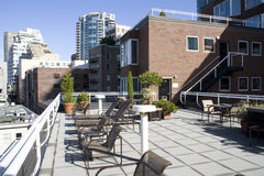 View deck apartments Royalty Free Stock Photography