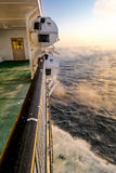 The view from the deck of ferry Royalty Free Stock Image