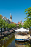 View on Delft channel Royalty Free Stock Photos
