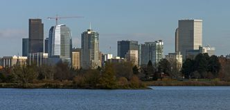 Wiev on Denver in sunny day. Stock Photography