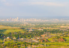 View of Denver Royalty Free Stock Photography