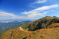 View from Derese - Low Tatras, Slovakia Stock Photo