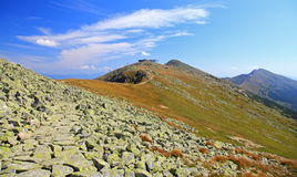 View from Derese - Low Tatras, Slovakia Stock Image