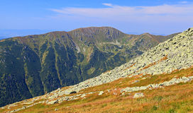 View from Derese - Low Tatras, Slovakia Royalty Free Stock Photo