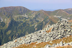 View from Derese - Low Tatras, Slovakia Stock Photography