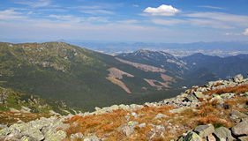 View from Derese - Low Tatras, Slovakia Stock Images