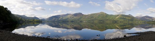 Derwent Water and Catbells near Keswick in the Lake District, Cumbria, England
