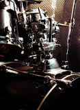 View detail of drum. Musical instrument Royalty Free Stock Images