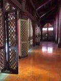 Big royal mandalay palace, Myanmar. View and detail of the exterior and interior of the royal mandalay palace. beautiful decorations. Myanmar stock photography