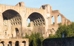 View of details of Ancient Rome stock photo