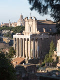 View of details of Ancient Rome Royalty Free Stock Photos
