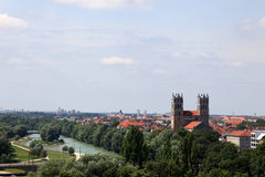View from the Deutsches Museum Royalty Free Stock Photos