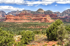 View of devils bridge trailhead in Sedona, USA. View of devils bridge trailhead in Sedona, Arizona, USA Sedona is an Arizona desert town near Flagstaff that royalty free stock photo