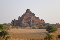 View of the Dhammayangyi Temple in Bagan, Myanmar Royalty Free Stock Photos