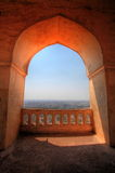 View from Dharbar Hall, Golconda Fort, Hyderabad Royalty Free Stock Photography