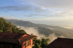 View from Dhulikhel, Nepal Stock Images