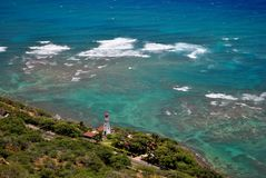 View from Diamond Head Royalty Free Stock Photo
