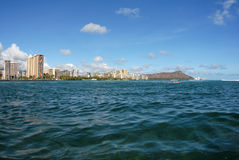 View of Diamond Head Stock Image