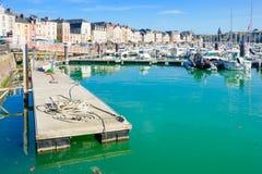 View of Dieppe port Stock Photo
