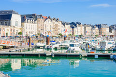 View of Dieppe port Stock Images