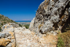 View from Dikeos, Kos, Greece. Royalty Free Stock Photography