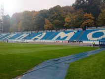 View at Dinamo Kiev stadium Stock Image