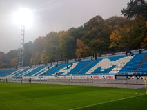 View at Dinamo Kiev stadium Stock Photos