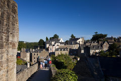 View of Dinan Royalty Free Stock Photo