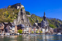 View of Dinant. Belgium Royalty Free Stock Photos