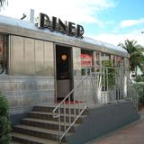 View of a diner. Miami, United States - November 30, 2003 : View of a diner in Miami Stock Photos