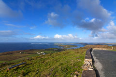 View of dingle peninsula - Ireland Stock Image