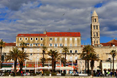 View of Diocletian palace in Split, Croatia Stock Photos