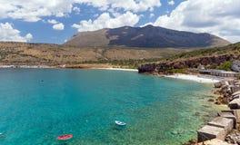 View of Diros beach in Mani, Laconia, Greece. stock photos