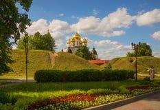 View Dmitrov. Kremlin. Uspensky Cathedral Royalty Free Stock Photography