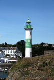 View of Doelan with Lighthouse Stock Image