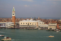 View of Doge's Palace, Campanile, Venice, Italy Royalty Free Stock Photo