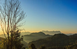 View of Doi Luang Chiang Dao Royalty Free Stock Photo