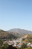 View from Doi Wao Stock Photo
