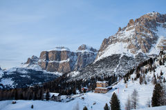 View of Dolomite mountains Stock Image