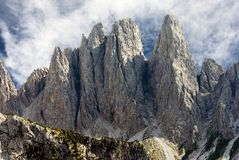 View from Dolomites Royalty Free Stock Photo