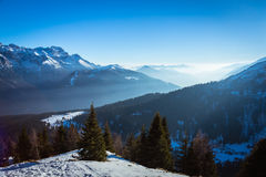 View of Dolomites Royalty Free Stock Images