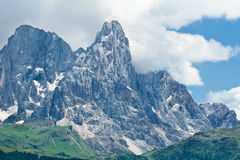 View of Dolomites Mountains, Italy Royalty Free Stock Photography