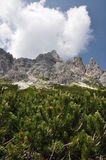 View of dolomites Royalty Free Stock Photography